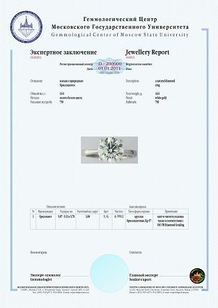 ���������� ���������� �� ��������� (Diamond Report)